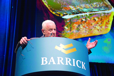 Barrick Gold's Profits Hit By Low Gold Prices As Future Of Mega Mine Uncertain