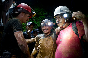 Trapped Gold Miners Rescued in Nicaragua