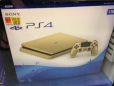 A gold PlayStation 4 is on the way, and it costs $249